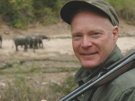 Colonel Boddington in the Zambezi Valley