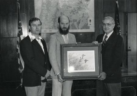 With Governor Victor Atiyeh proclaiming National Hunting and Fishing Day