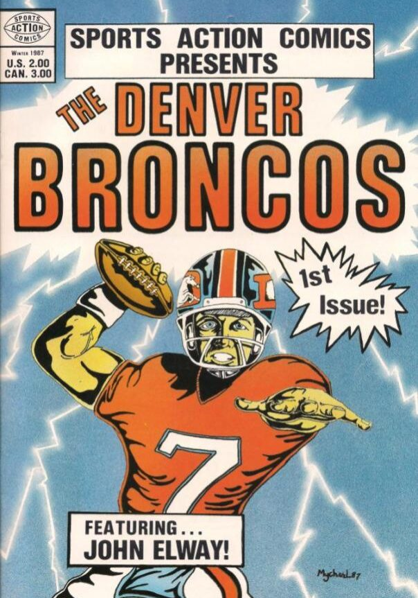 Broncos Comic cover 1987_opt